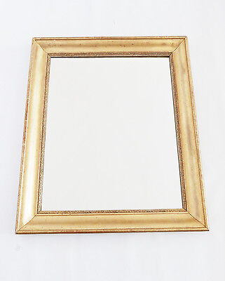 antique french gilt mirror  19 th  - Louis - Philippe - wood and gesso