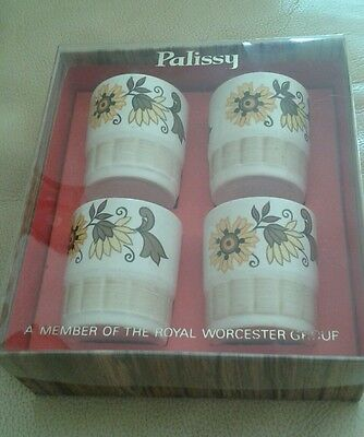 Palissy / Royal Worcester Vintage egg cups - Boxed
