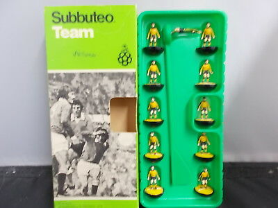 Subbuteo Heavyweight Team Ref 211 with Box WOLVES