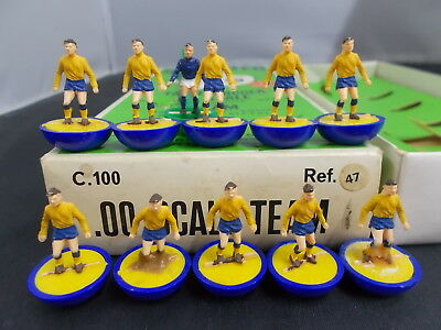 Subbuteo Heavyweight Team Ref 47 SOUTHPORT with Box Reference Sticker