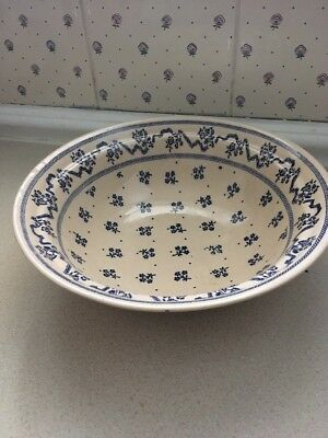 Laura Ashley Petite Fleur Serving Bowl / Tureen Bowl