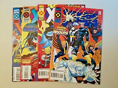 Amazing X-Men #1-4 (9.8) 1995 Marvel Comics Age of Apocalypse Complete Set