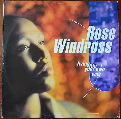 "Rose Windross ‎– Living Life Your Own Way 12"" – JAZID 37T – VG+"