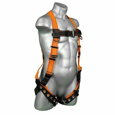 Warthog® 5-Point Customizable Full Body Harness with TB D-Ring & Fall Indicator