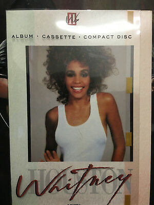 Whitney Houston Beautiful Large In-Store Display For The Album Whitney