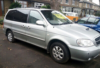 Kia Sedona LE 2.9L  ONLY 85,254 miles MOT 06/18  PRICED TO SELL AS NEEDS CLUTCH