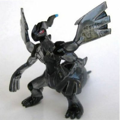 """Pokemon Monster Collection Clear Zekrom 2"""" Figure Toy Moncolle MC Takara Tomy"""