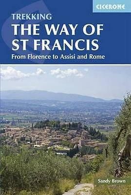 NEW The Way Of St Francis by The Reverend Sandy Brown BOOK (Paperback) Free P&H