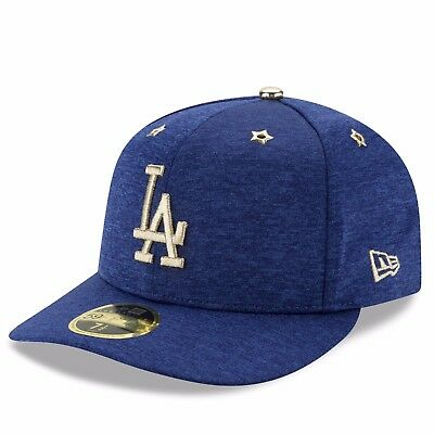 Adult 7 1/8 Los Angeles Dodgers 17 All-Star Game New Era 59FIFTY Fitted Cap M203
