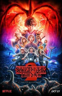 """Stranger Things 2 (11"""" x 17"""") Movie Collector's Poster Print ( T6)- B2G1F"""