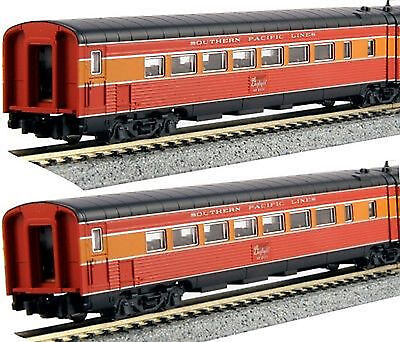 KATO 1066309 N  SCALE Southern Pacific Lines Morning Daylight 2 Car Set 106-6309