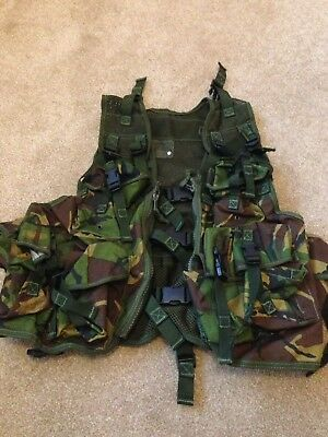 Dpm Assault Vest | Military | Airsoft Paintball Webbing Vest