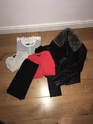 Size 8 Topshop Bundle - Leather Jacket And More