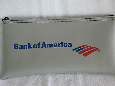Bank Of America Zipper Money Deposit Bag Organizer