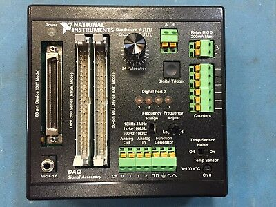 National Instruments 183554C-01 Model Daq Signal Accessory