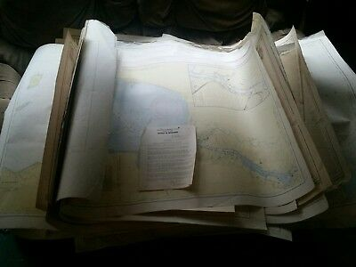 Antique Map LOT. Great Lakes. US AND CANADA. 29 maps and 1 harbor blueprint.
