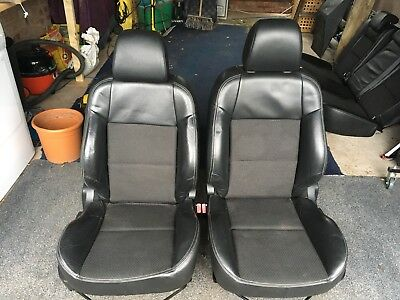 Peugeot 207 gt Half Leather Seats