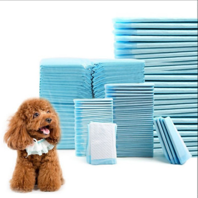 "200 Quilted Extra Absorbent 23x24"" Puppy Piddle Pee Training Pads 8hrs 40lb Dog"