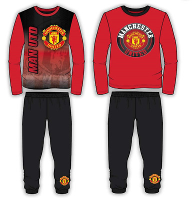 Boys Man Utd Fc Football Pyjamas Set, Size 4-5, 5-6, 7-8, 9-10 & 11-12 Years