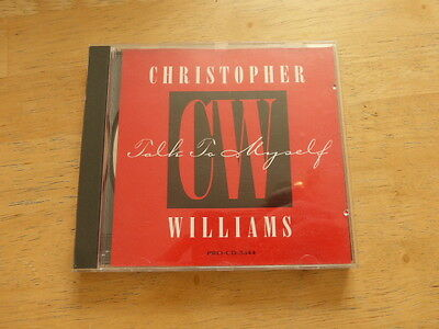 Christopher Williams ‎– Talk To Myself  - CD Single Promo