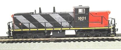 Rare Rapido N Scale Locomotive (Dcc/sound) Gmd-1A Canadian National #1601