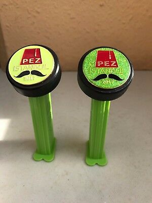 Pez 2017 Istanbul Gathering dispenser set of 2 + Pin