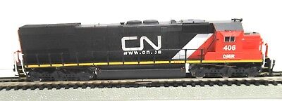 Rare Intermountain N Scale Locomotive Dcc Sd45T-2 Canadian National #406
