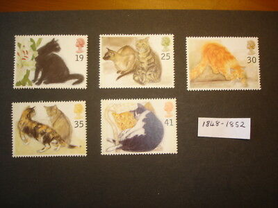 GB Stamps 1995 Cats SG1848-1852 MNH