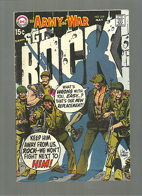 Our Army At War #219  Higher Grade Copy