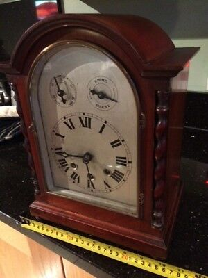 Antique bracket / mantle clock , beautiful condition , very attractive piece