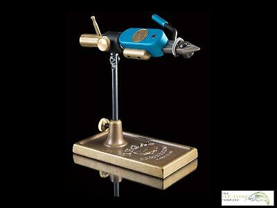 Regal Revolution 'Blue' Vice, Stainless Jaws and Bronze Traditional Base | Ltd E