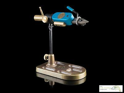 Regal Revolution 'Blue' Vice, Stainless Jaws and Bronze Pocket Base | Ltd Editio