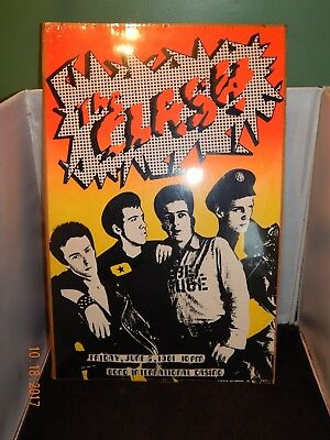 Original Pkg 1981 The Clash Concert Poster - Bond International Casino - Rare!
