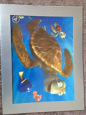 Disney Finding Nemo Authentic Lithograph