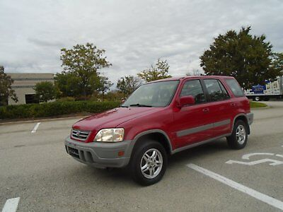 2000 Honda CR-V LX ALL WHEEL DRIVE-ADULT OWNED-CLEAN-READY FOR WINTER WITH NO RESERVE-YES NO RESERV