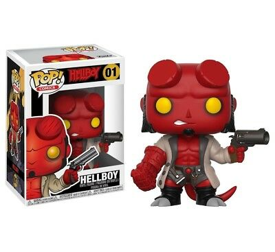 Funko Pop Comics Hellboy Hellboy#01 New Vinyl Figure #1