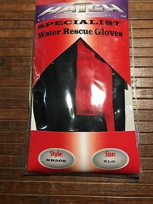 Hatch Specialist Water Rescue Gloves (NR209) Size XL. NEW