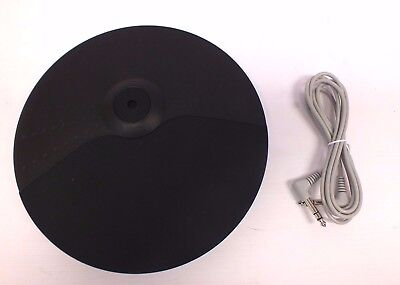 """10"""" Cymbal Pad For Electronic Digital Drums Single Zone By Gear4Music - Y99"""