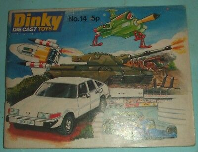 Dinky Die-Cast Toys Catalogue # 14, 1978.