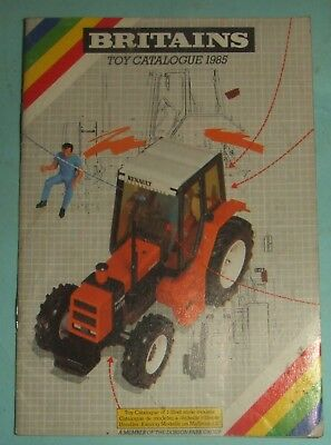 Britains Toy Catalogue 1985.