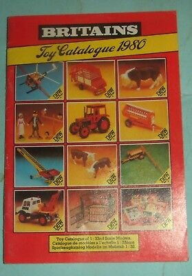 Britains Toy Catalogue 1980.