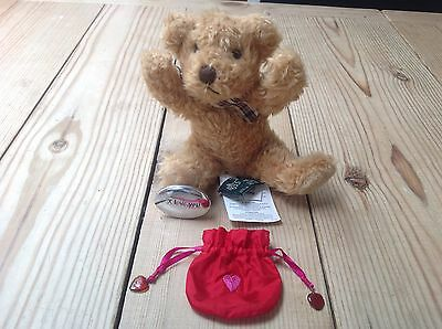 New  Russ Berrie Bears In Love Collectable Teddy & I Love You Gift