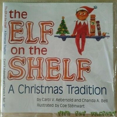 Elf on the Shelf A Christmas Tradition Book Chirstmas Gift