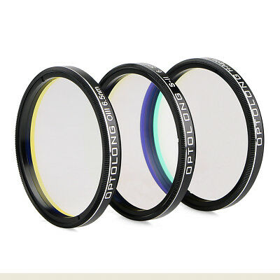 """OPTOLONG 2"""" H-Alpha 7nm/SII-CCD 6.5nm/OIII-CCD 6.5nm/Narrow-Band Filters kits"""