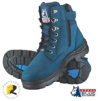 Steel Blue Southern Cross Zip Boots Safety Toe 312361