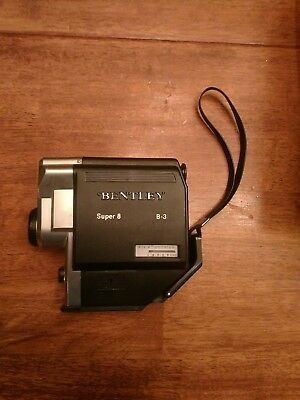 Vintage​ Bentley Super 8 B-3 Video Movie Camera Film 13mm XL Glass Lens