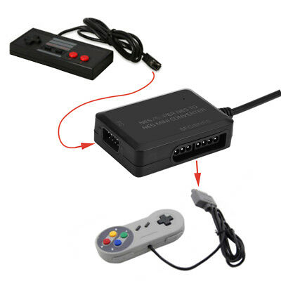 NES/SNES SFC To NES Mini Classic System Controller Converter For PC PS3 Mayflash