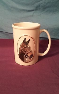 "Equine Expressions ""BAY HORSE"" Horse Mug Face Saying Animal Coffee Tea"
