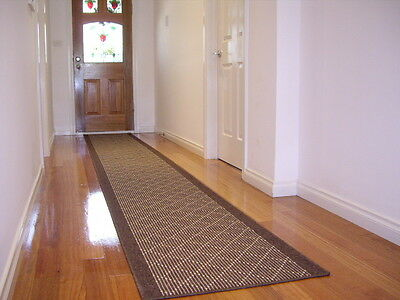 Hallway Runner Hall Runner Rug Modern Brown 5 Metres Long Free Delivery