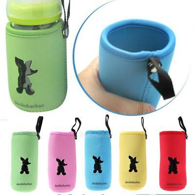 Baby Milk Bottle Insulation Bag Cup Hang Warmer Thermal Bottle Cover Pouch Bag